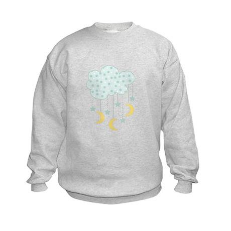Hanging Moon Stars Sweatshirt