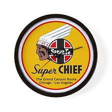 Santa Fe Super Chief1 Wall Clock