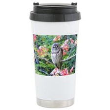 Autumn Owl Travel Mug