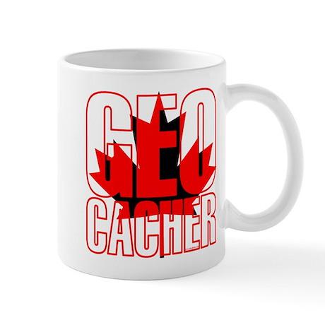 Maple Leaf Geocacher Mug