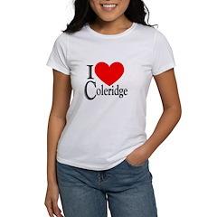 I Love Coleridge Women's T-Shirt
