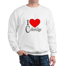 I Love Coleridge Sweatshirt