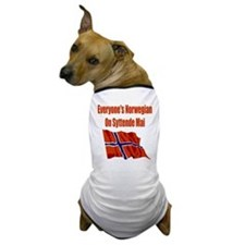 Funny Norge Dog T-Shirt