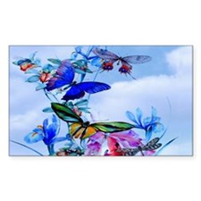 Small Serving Tray Take Flight Decal