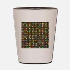 Psihedelic Shot Glass