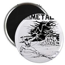CLE Warrior Rock Magnet