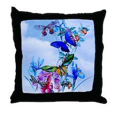 Twin Duvet Pair Take Flight Butterfly Throw Pillow