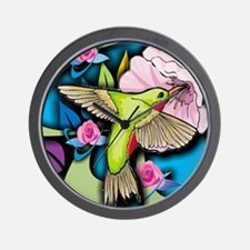 Janelle's Hummingbird Wall Clock