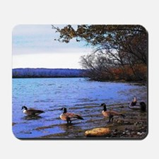Autumn Lake Mousepad
