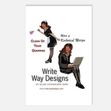 Clean Up Your Grammar Postcards (Package of 8)