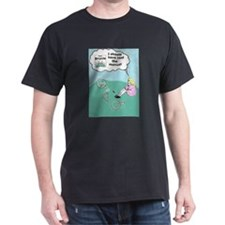 Read the Manual Black T-Shirt