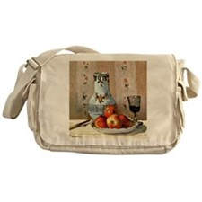 Still Life with Apples - Camille Pis Messenger Bag