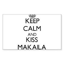 Keep Calm and kiss Makaila Decal