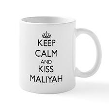 Keep Calm and kiss Maliyah Mugs