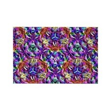 Honeycomb 2 A Rectangle Magnet