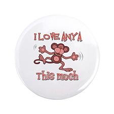 """I love Anya 3.5"""" Button"""