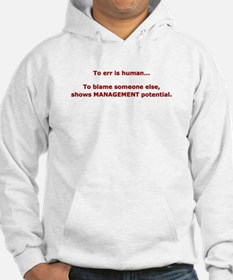 Blame others? Management Pote Hoodie