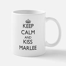 Keep Calm and kiss Marlee Mugs