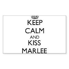 Keep Calm and kiss Marlee Decal