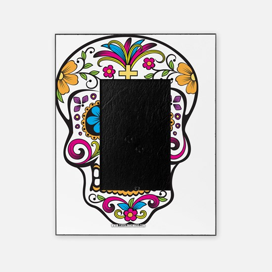 Day of The Dead Sugar Skull, Hallowe Picture Frame