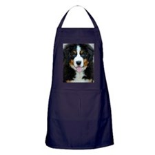 Bernese Mountain Dog Puppy 3 Apron (dark)