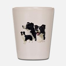 Border Collie Multi Shot Glass