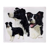 Border collie Blankets