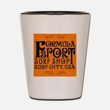 Formula Sport Surf Shop Shot Glass