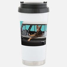 Doberman Pinscher in Cl Thermos Mug
