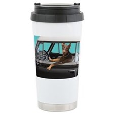 Doberman Pinscher in Cl Travel Coffee Mug