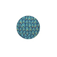 Abstract Pattern Mini Button