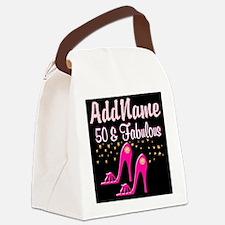 TERRIFIC 50TH Canvas Lunch Bag