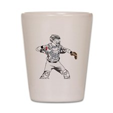 Catcher C Shot Glass