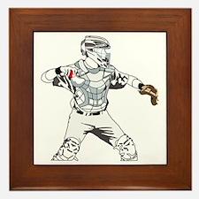 Catcher C Framed Tile