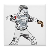 Baseball catcher Drink Coasters