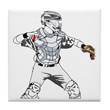 Catcher C Tile Coaster