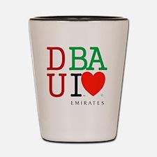 Dubai UAE Emirates. Islam Abu Dhabi Ara Shot Glass