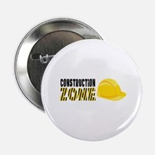"Construction Zone 2.25"" Button"
