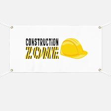 Construction Zone Banner