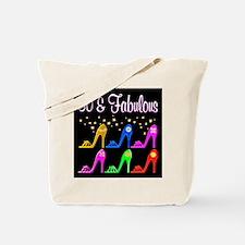 50TH SHOE GIRL Tote Bag