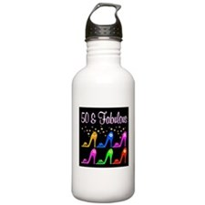 50TH SHOE GIRL Water Bottle