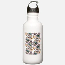 Day of The Dead Sugar  Water Bottle