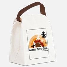 Summer Never Ends Canvas Lunch Bag