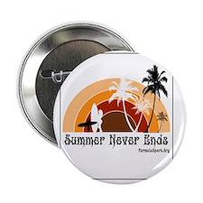 """Summer Never Ends 2.25"""" Button"""