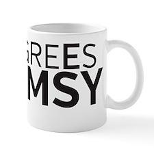 9 Degrees Whimsy Mug