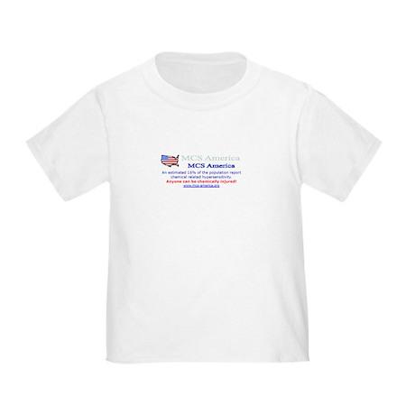 MCS America Logo Wear Toddler T-Shirt