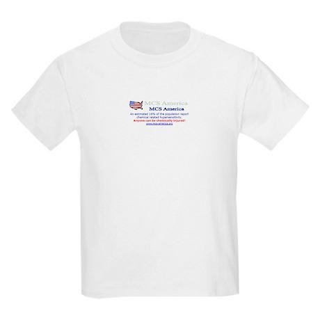 MCS America Logo Wear Kids Light T-Shirt