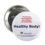 "Healthy Body 2.25"" Button (100 pack)"
