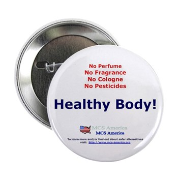 """Healthy Body 2.25"""" Button (100 pack)"""