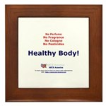 Healthy Body Framed Tile